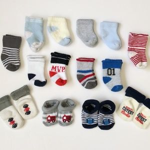 Other - Baby Boys Socks Bundle Lot (14 PAIRS!)
